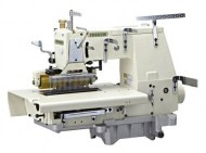 33-needle-flat-bed-double-chain-stitch-sewing-machine