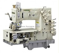 4-needle-flat-bed-double-chain-stitch-sewing-machine-with-metering-device